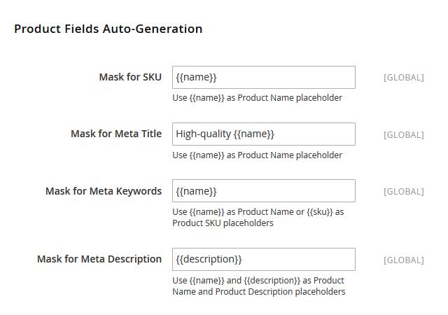 Magento 2 automatische meta generatie